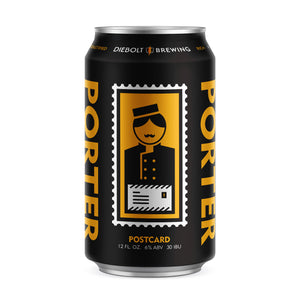 Postcard Porter (25oz Crowler)