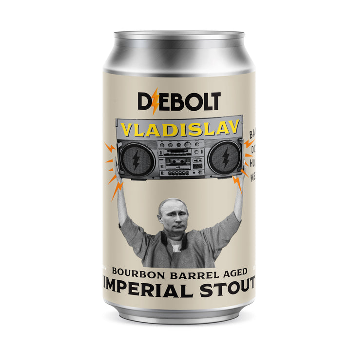 Vladislav, Bourbon Barrel Aged Imperial Stout (4pack)