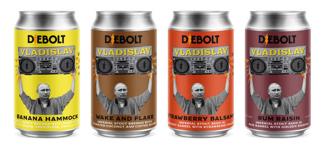Vladislav Imperial Stout Variations, Mixed Pack (4 pack)