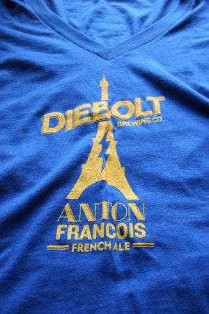 LADIES – BLUE DIEBOLT TEE