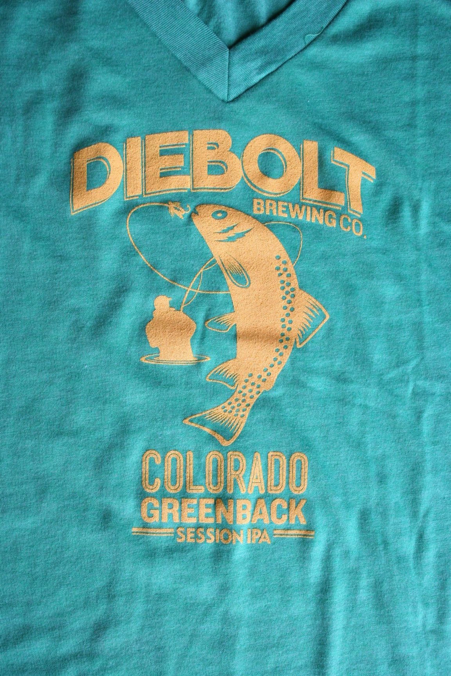LADIES – GREEN DIEBOLT TEE