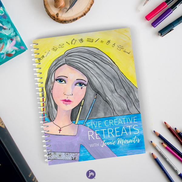 Five Creative Retreats by Jennie Moraitis {PDF}