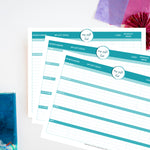 Printable Gift List {FREE or Pay What You Can}