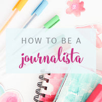 Join the Journalista Challenge {Online Journaling course}