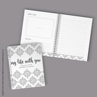 My Life With You {A Printable Book of Letters from Birth to Eighteen}