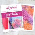 Get art journal printable backgrounds that you can use for art journaling collages, texture, layering, and more! These beautiful printable backgrounds are so much fun to use! Click to see examples.