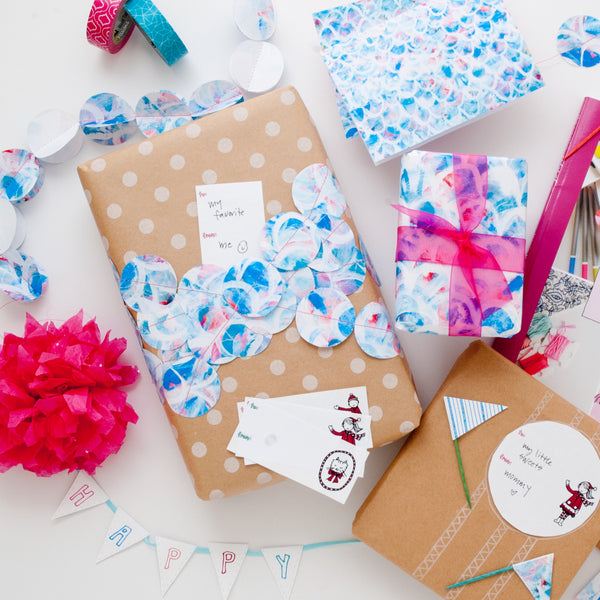 Gift Wrap and Cards Bundle {20 pages}
