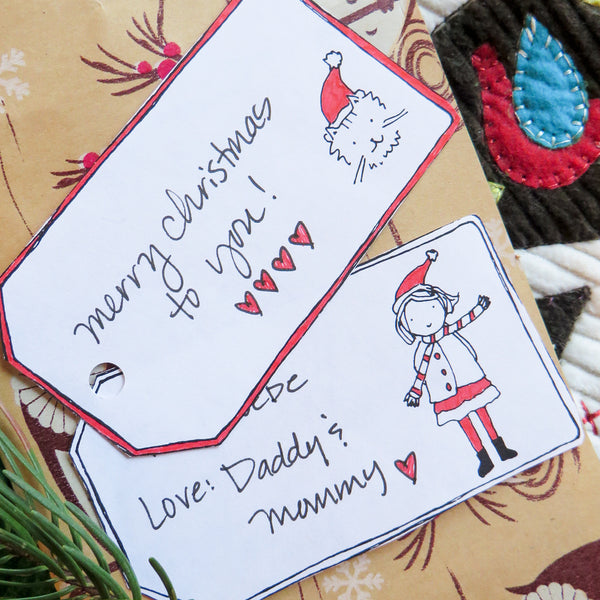 Christmas Tags {FREE or Pay What You Can}