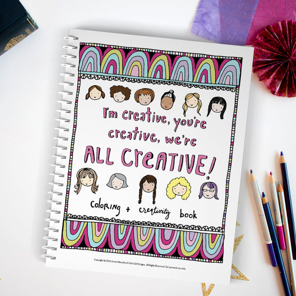 Creative Retreat Coloring Book {PDF}