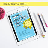 There's a reason Happy Journal, Happy Life is a best-selling book on Amazon! It not only shares how Jennie Moraitis started her own happy journal practice, it gives you the ideas and mindsets needed to start your own happy journal right away! People LOVE happy journals because they bring so much joy to their lives, no matter their skill level. Stick figures unite!