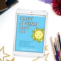 Happy Journal Happy Life eBook {114 pages}