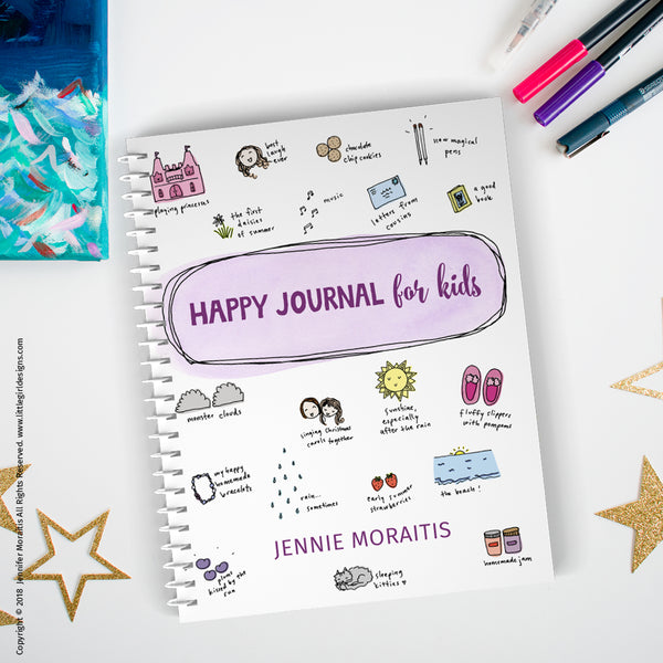 Happy Journal for Kids! (36 page gratitude journal)
