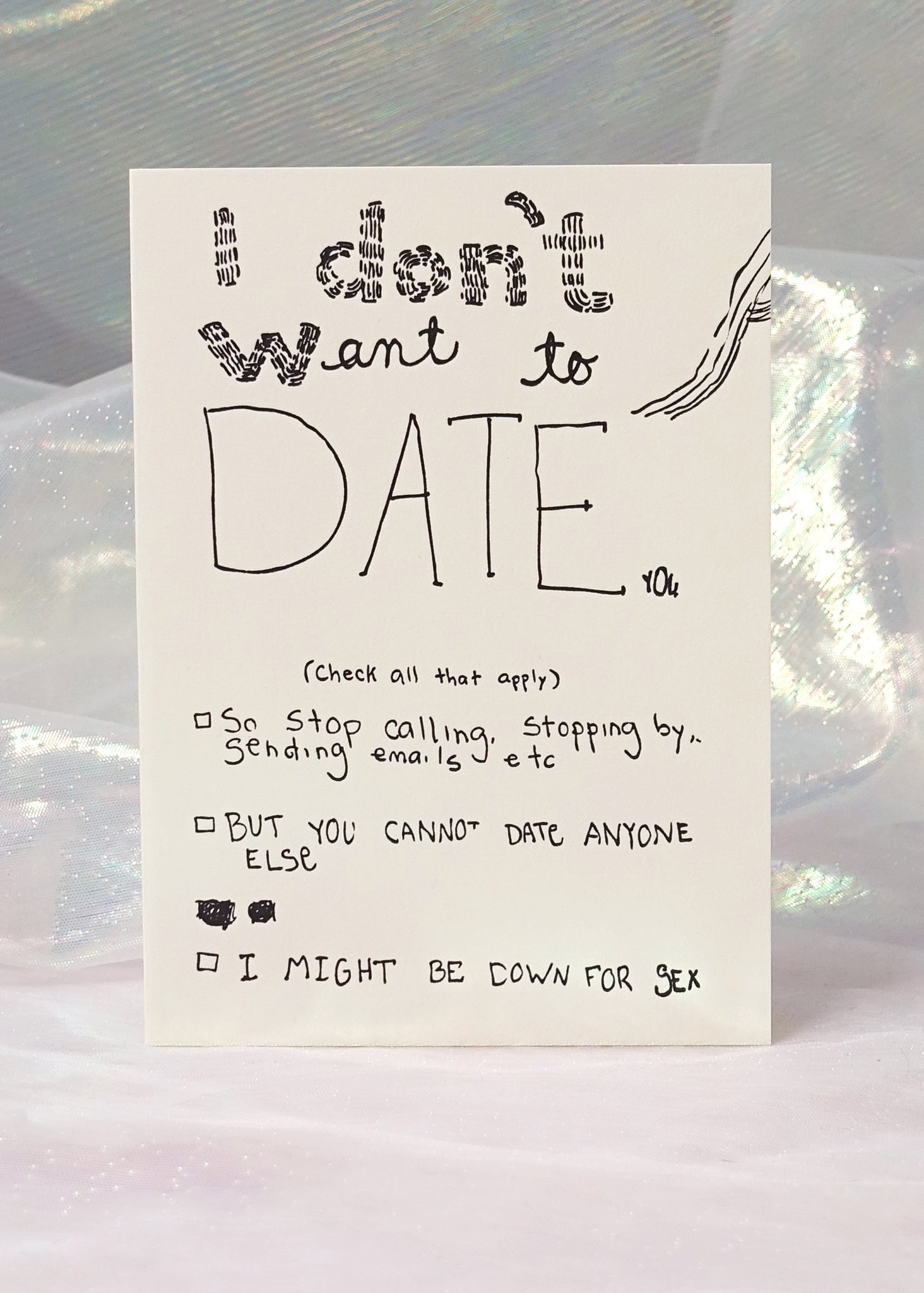 Date You Card