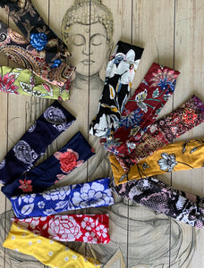 Buddha Gear Super Soft Summer Buddha Bands meditation yoga headbands for better yoga meditation and sleep - yoga wear