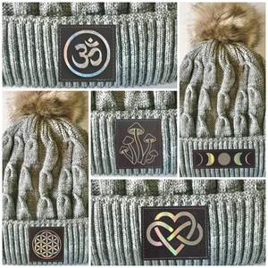 plush beanies by buddha gear