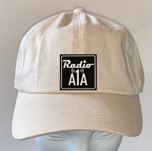"Load image into Gallery viewer, Buddha Gear Stone dad hat Radio A1A Headwear, Key West Florida ""Music For The Road To Paradise""  Make sure to tune in when you're driving through the Keys! Even when your'e not, you can tune into their web radio at www.radioa1a.com"