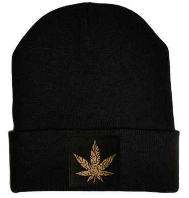 Cannabis and Plant Medicine Beanies by Buddha Gear marijuana