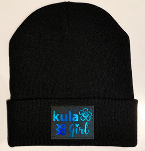 Black Cuffed Beanies by Buddha Gear and Kula Brands