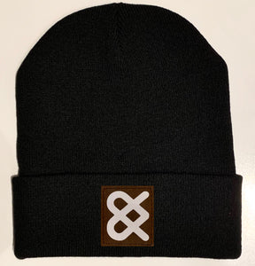 Black yoga  Beanie hat by Buddha Gear and Kula Brands
