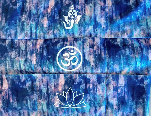 sacred geometry buddha bands Buddha Wear Buddha gear Om is a sacred sound and a sacred spiritual symbol in Hinduism, that signifies the essence of the ultimate reality, consciousness or Atman (soul). Some believe it is the sound of creation.  Our original Buddha Band - Yoga, meditation headband has hidden pocket to hold a crystal over your third eye while you meditate, practice yoga or sleep.