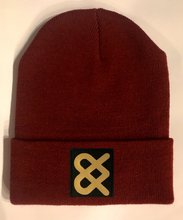Load image into Gallery viewer, Burgundy Skater  Beanie hat by Buddha Gear and Kula Brands