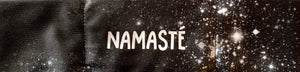 namaste yoga meditation headband by buddha gear for yoga meditation an sleep with a crystal over your third eye