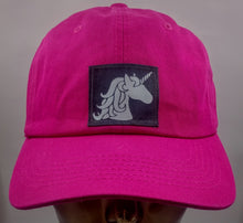 Load image into Gallery viewer, Buddha gear Buddha Lid Flexible cotton dad hat with Unicorn!  Always be yourself... Unless you can be a Unicorn! Then be a Unicorn