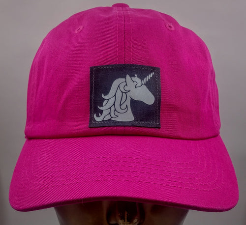 Buddha gear Buddha Lid Flexible cotton dad hat with Unicorn!  Always be yourself... Unless you can be a Unicorn! Then be a Unicorn