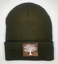 Load image into Gallery viewer, Buddha beanie with Celtic Tree of Life over your third eye by Buddha Gear