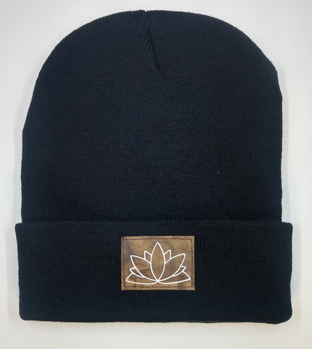 Beanie with the lotus symbol by buddha gear