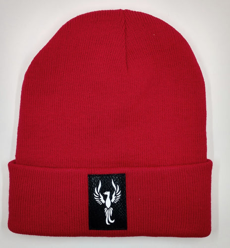 Buddha Beanie with the Powerful Phoenix Symbol over your Third Eye by Buddha Gear