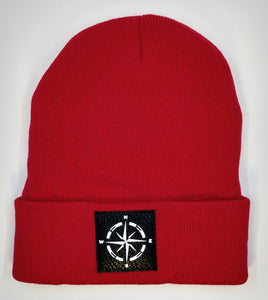 Find your true North with your Compass Buddha Beanie! Wearing a compass over your third eye is a great that it's never too late in life to change or alter your course.  The compass points in four directions; North, South, East and West, harkening back to sailors and ships traversing the stormy seas on their way home from a long journey. The compass holds meaning for a traveler, being a symbol for guidance, the ability to point you in the right direction.