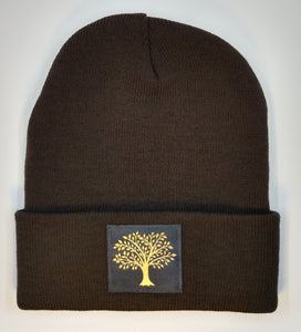 Buddha beanie with Celtic Tree of Life over your third eye by Buddha Gear