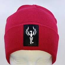 Load image into Gallery viewer, Buddha Beanie with the Powerful Phoenix Symbol over your Third Eye by Buddha Gear