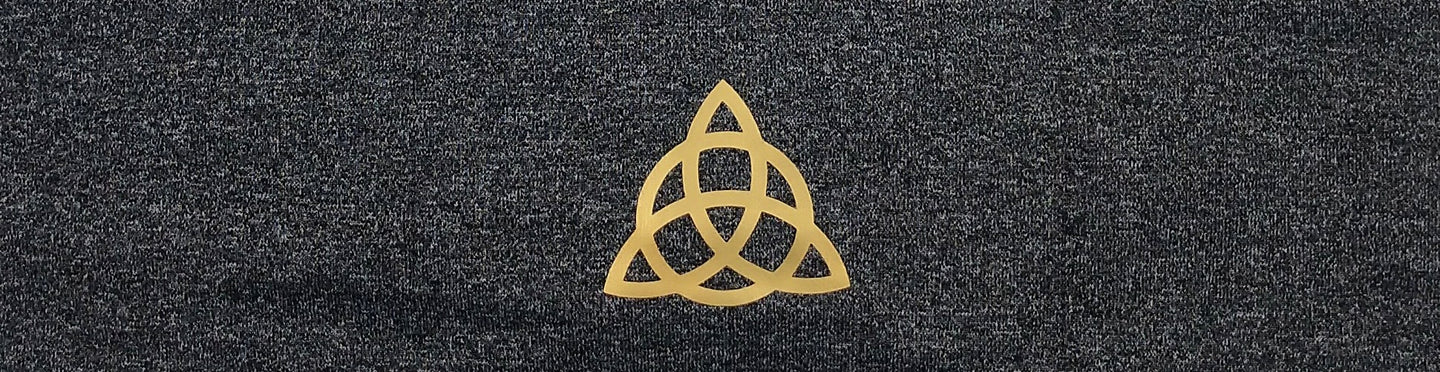 An ancient Celtic symbol, the triquetra is considered one of the oldest; dating back to as early as 500 BC when it was used to symbolize the triple goddess (maiden-mother-crone). Over the centuries it has become the symbol for the Holy Trinity among Christians in Ireland. The symbol is often used to represent the 3 fundamental elements – air, water, and earth or the infinite cycle of life. It is also known as a rune of protection.