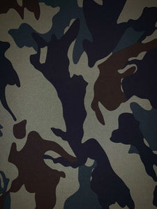 Camo face masks, fitted face masks, reusable custom face masks by Buddha Gear