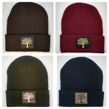Load image into Gallery viewer, Buddha beanie with the Tree of Life over your third eye by Buddha gear