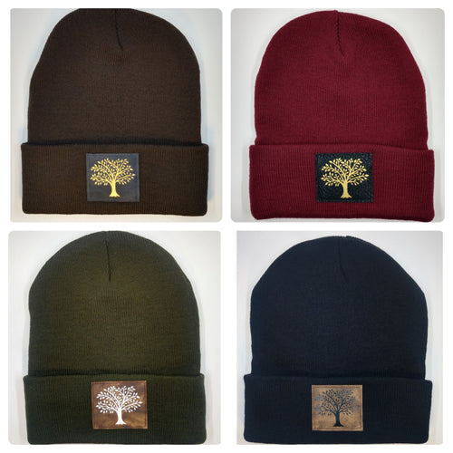 Buddha beanie with the Tree of Life over your third eye by Buddha gear