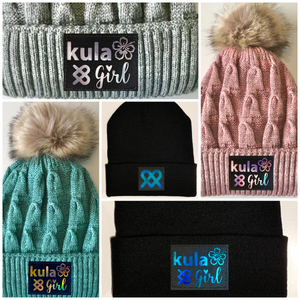 Pom Pom Beanies by Buddha Gear and Kula Brands