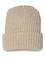 Load image into Gallery viewer, Rasta beanie thick cuffed chunky knit beanie by Buddha gear dreadlocks