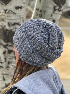 dread head beanie thick cuffed chunky knit beanie knitted hat by Buddha gear dreadlocks