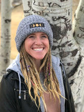 Load image into Gallery viewer, dreadlock beanie thick cuffed chunky knit beanie knitted hat by Buddha gear