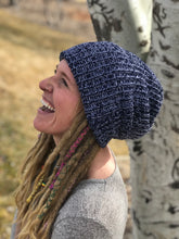 Load image into Gallery viewer, dread head dreadlock beanie thick cuffed chunky knit beanie knitted hat by Buddha gear