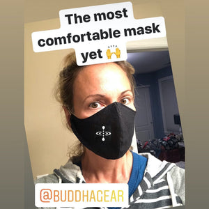 Buddha Gear Face masks Murk.Wav Collective  [founded in 2018] Is a collective of music producers located in Northern UT, USA.  Inspired by the forward thinking vibrations of the music community we strive to connect with one another through dance, music, and solid bass lines.  Thank you for your support as we grow together through self expression.