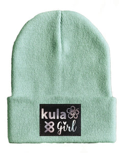 Aqua Yoga Beanie hat by Buddha Gear and Kula Brands