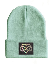Load image into Gallery viewer, Love yoga Beanie hat by Buddha Gear infinity