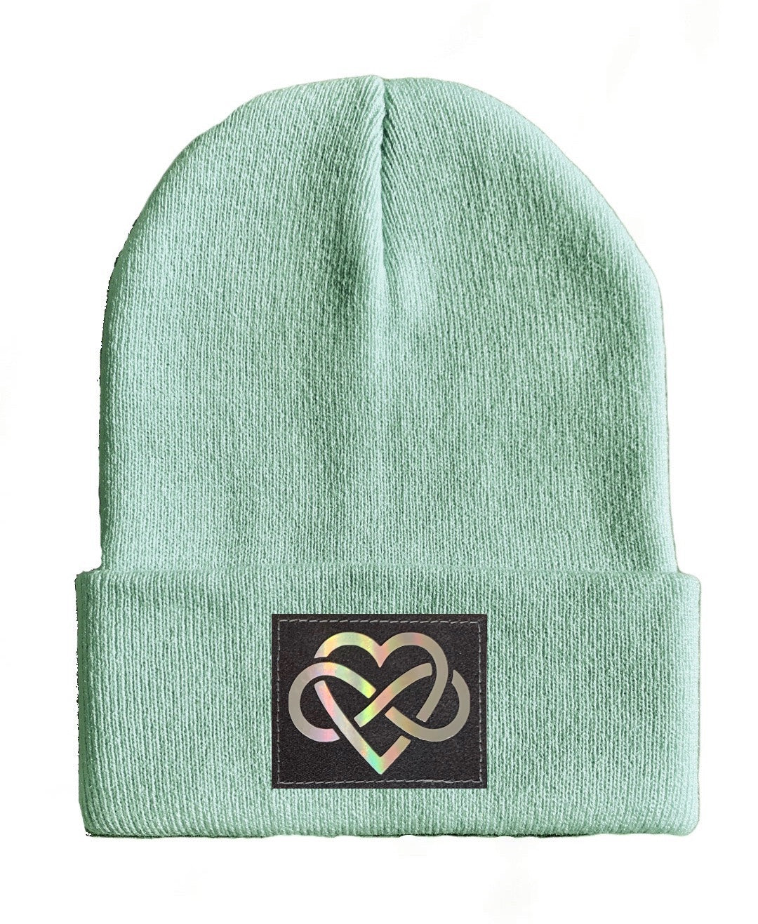 Love yoga Beanie hat by Buddha Gear infinity
