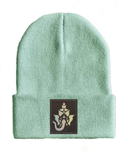 Load image into Gallery viewer, ganesha yoga Beanie hat by Buddha Gear ganesh ganapati