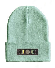 Load image into Gallery viewer, moon yoga Beanie hat by Buddha Gear