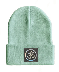 om yoga Beanie hat by Buddha Gear kundalini hat